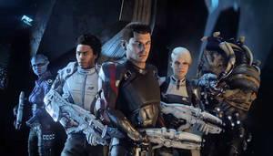 Meet the Crew -- Mass Effect: Andromeda
