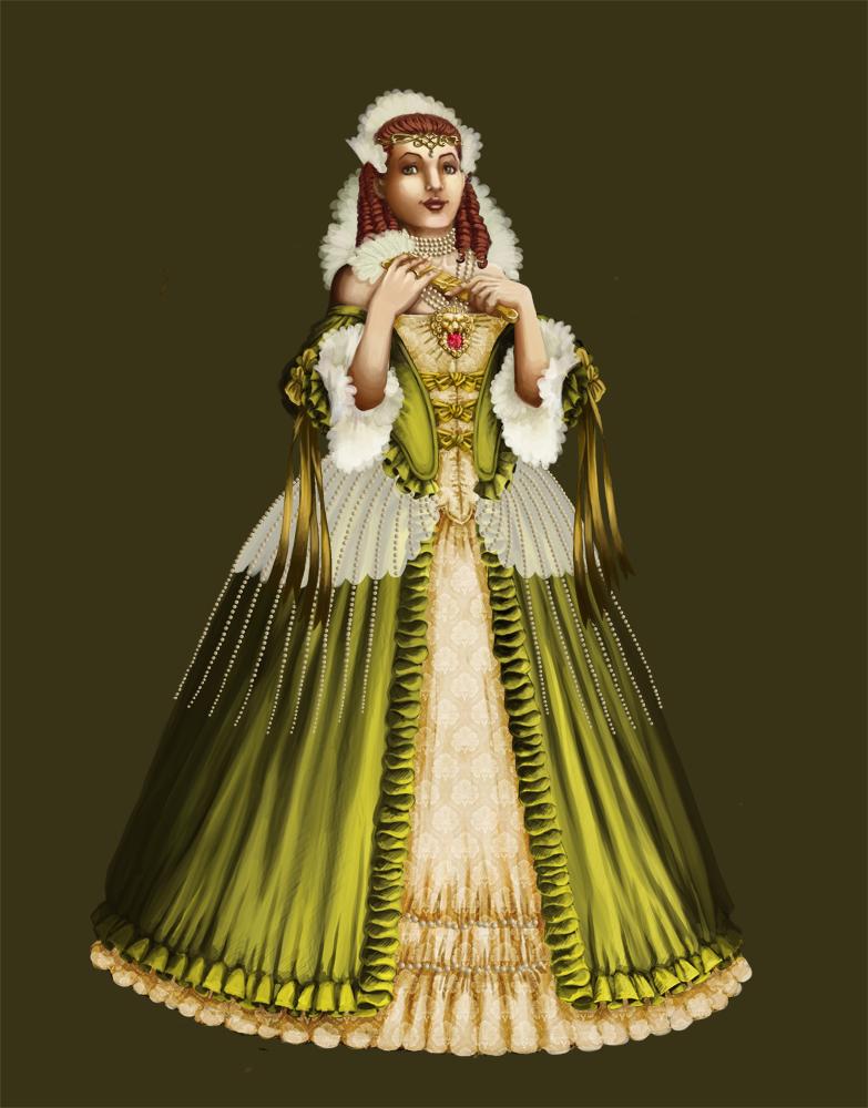 Empress Celene of Orlais by Ullervoinen