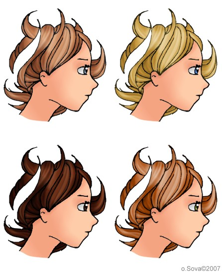 hair concept 2007 by acnero