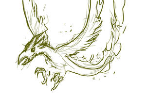 phoenix_sketch by acnero