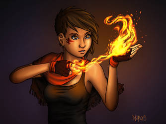 Pyromancer by acnero
