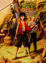 One Piece by Mzag