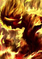 Goku's Fury by Mzag