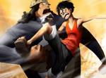 Luffy vs Kuma