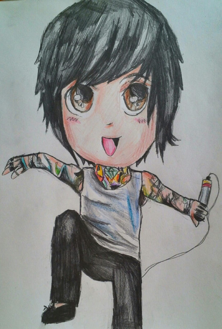The Adorable Mitch Lucker by Panicatthedisco7