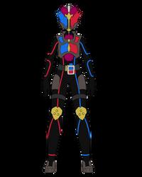 kamen rider Do-Kushu - Double Base Form