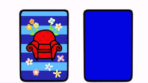 Springtime notebook template