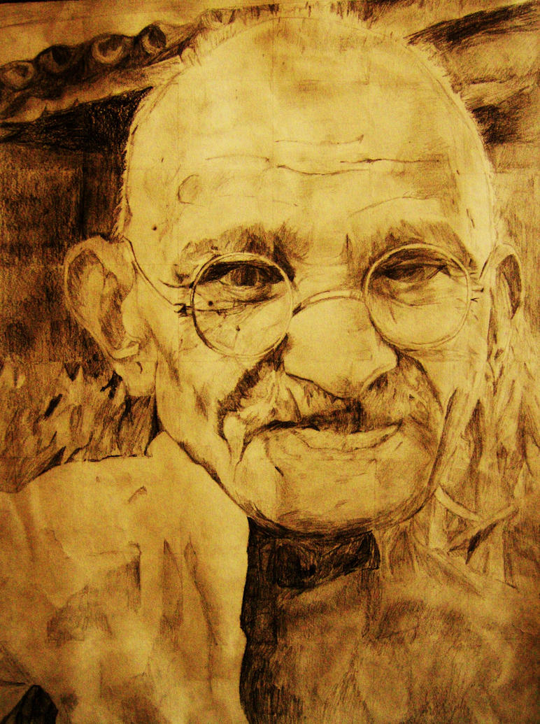 Gandhi by Gigi596