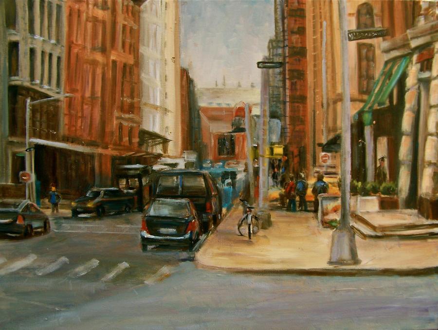 W Broadway Manhattan by Wulff-Arts