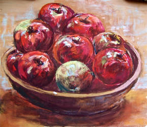Red apples by Wulff-Arts