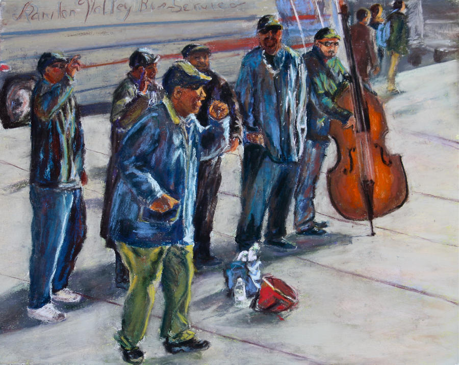 The Street Singers of NYC by Wulff-Arts