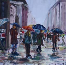 Rainy NYC 2 by Wulff-Arts