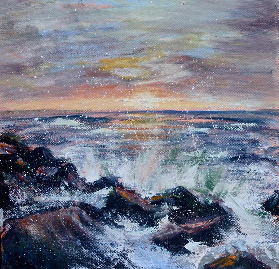 Long Island Waves by Wulff-Arts