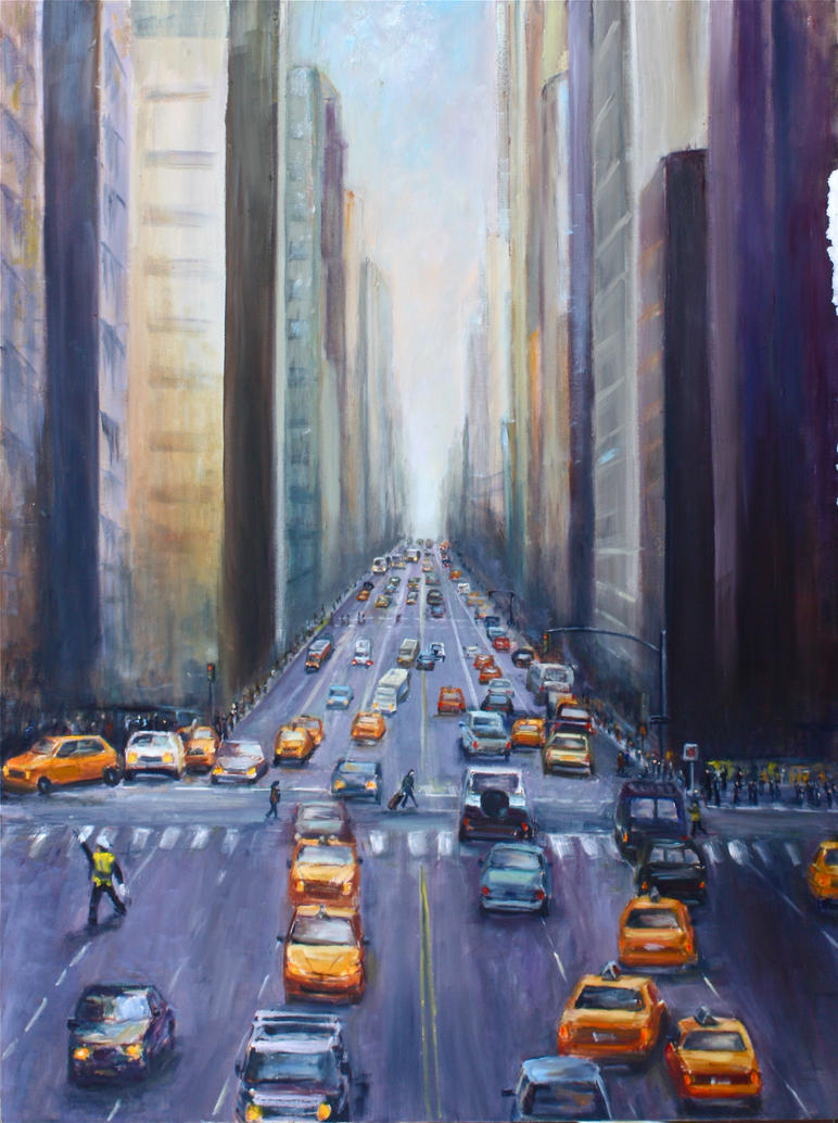 NYC TRAFFIC by Wulff-Arts