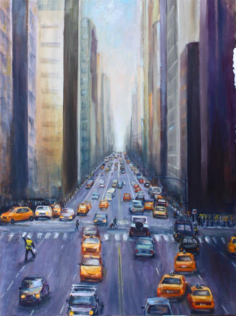 NYC TRAFFIC by Wulff-Arts