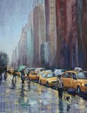 NYC RAIN by Wulff-Arts