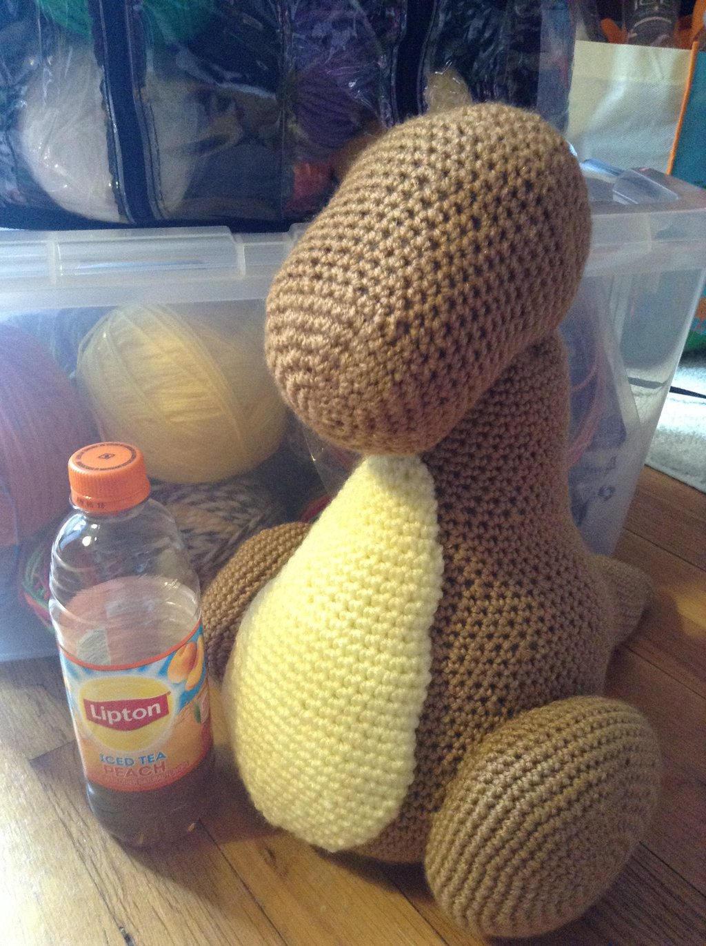 Amigurumi Yarn Size : Life-Size Cubone Amigurumi WIP #6 by Krejdar on DeviantArt