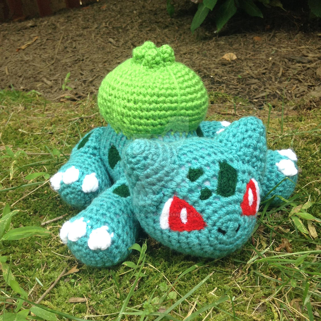 Ravelry: Pokemon Bulbasaur Amigurumi pattern by Strings Away | 1024x1024