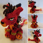More Red XIII by TallGrassArt