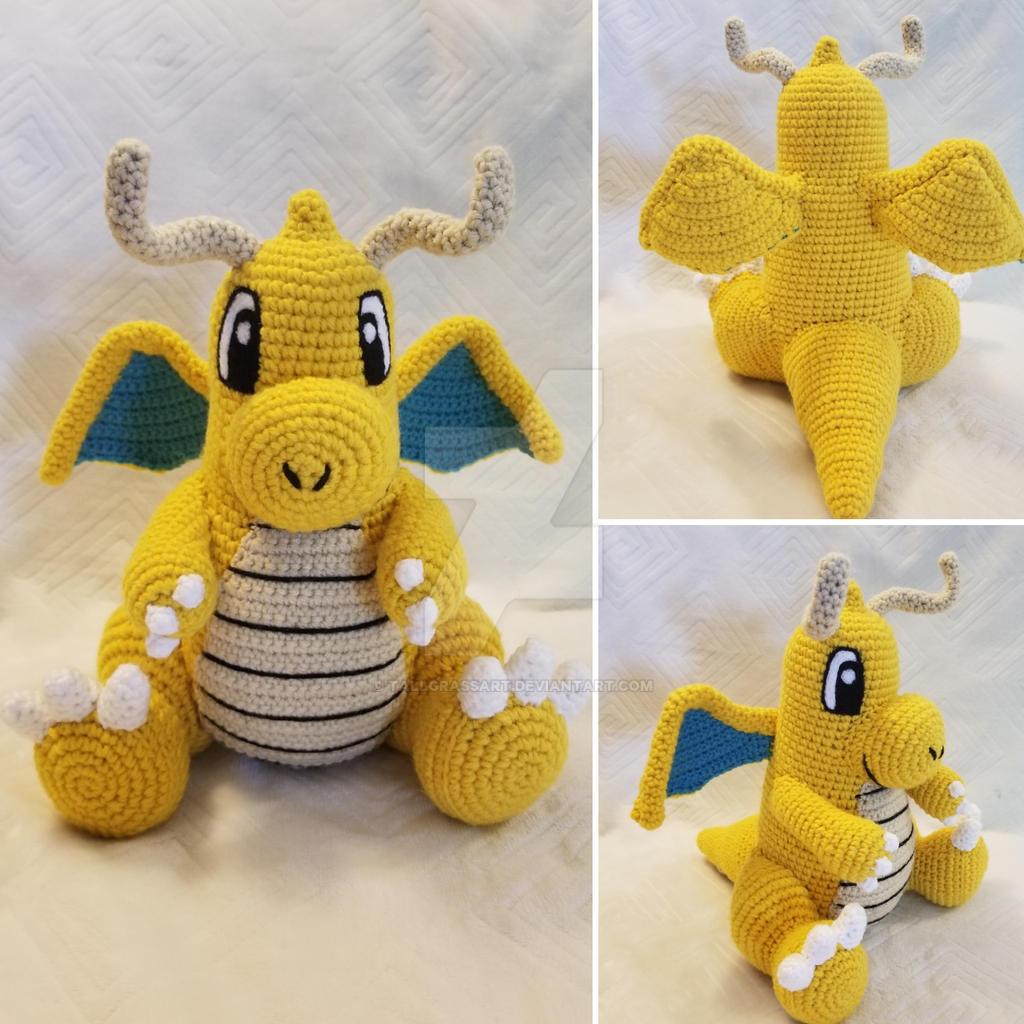 Dragonite Crochet Pattern with Video Tutorial – Studio Crafti | 1024x1024