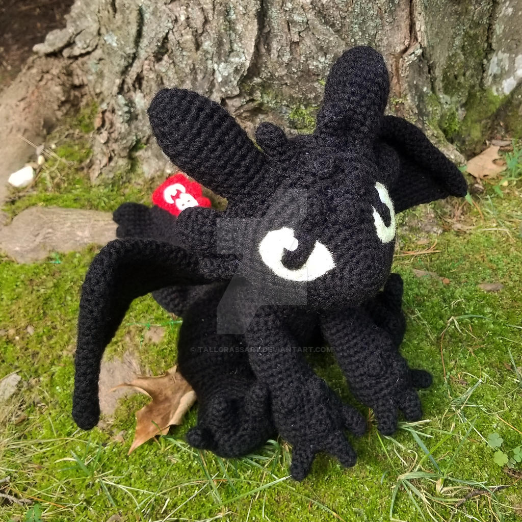 Toothless fall in love _ Toothless English crochet pattern ... | 1024x1024