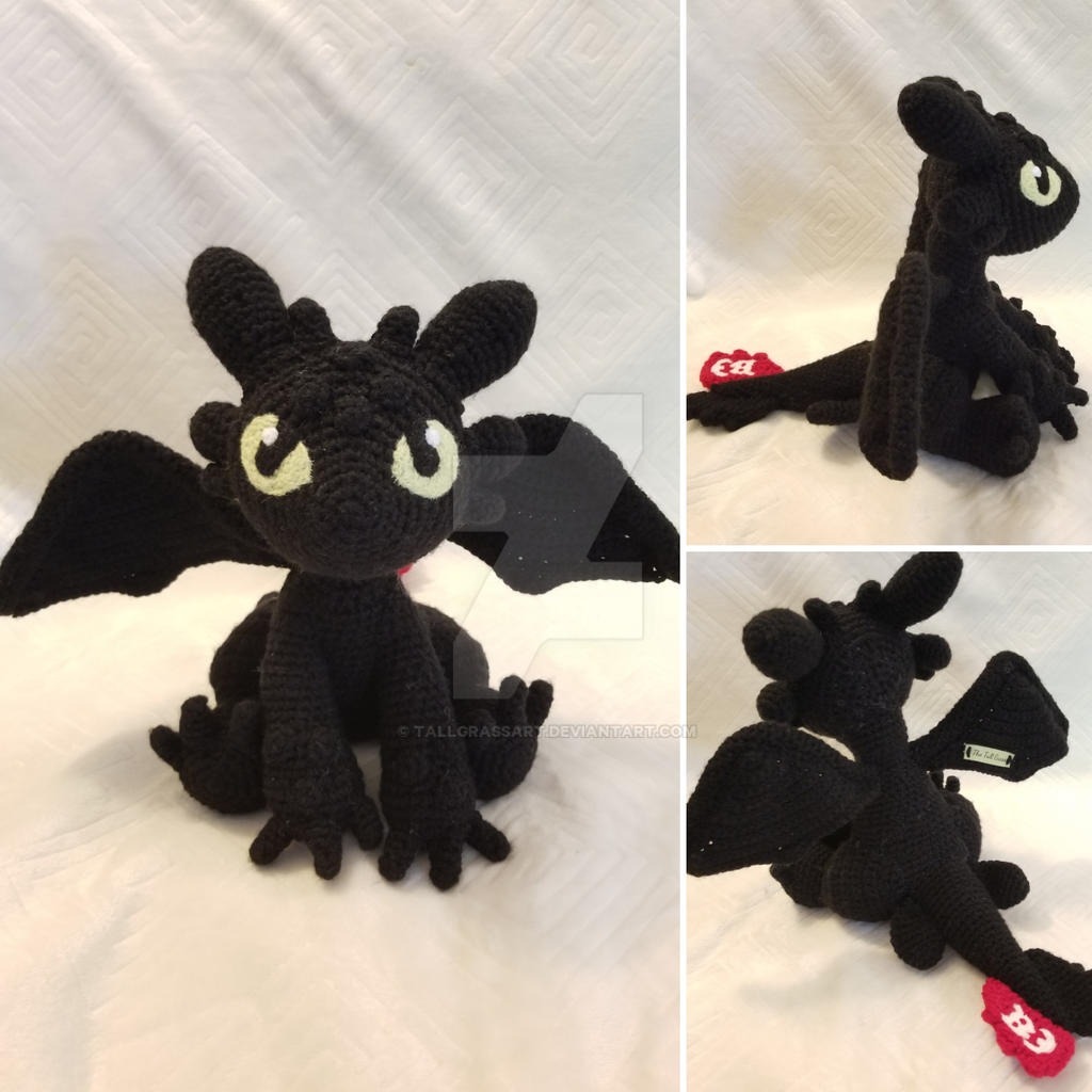 Crochet Toothless Pattern from How to Train Your Dragon | Crochet ... | 1024x1024