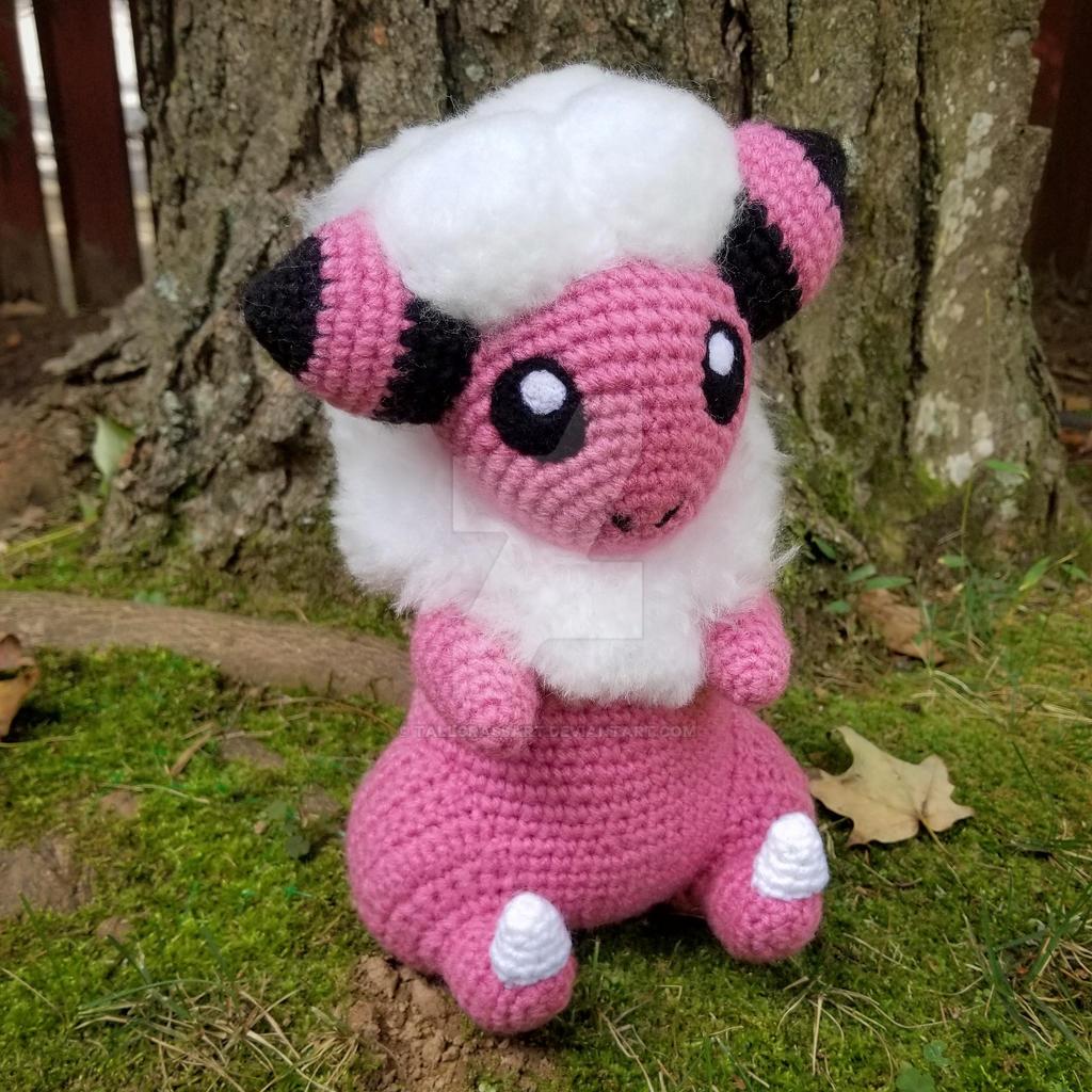 Who's The Pokemon? It's Mareep! Amigurumi – Crochet Constellation | 1024x1024