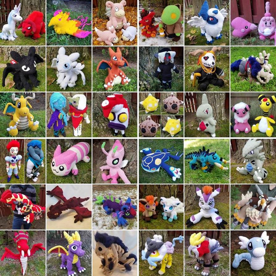 44 New Amigurumi Patterns - 2018 'Goal'
