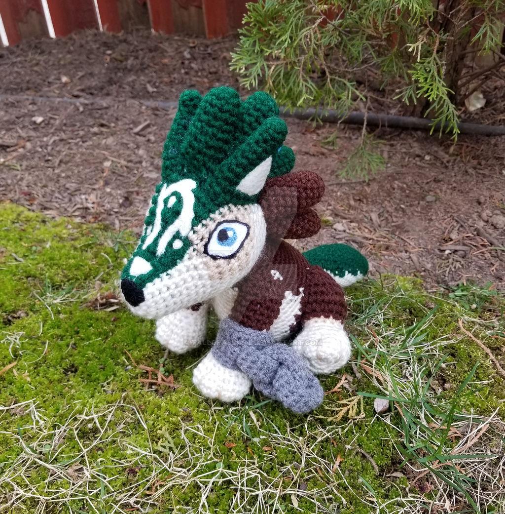 Handmade crochet fox Designer: crochetbykim #handmade #crochet ... | 1041x1024