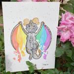 Pride Wyvern Watercolor