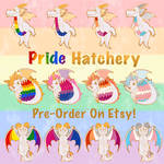 Pride Hatchery Pins - Pre Order