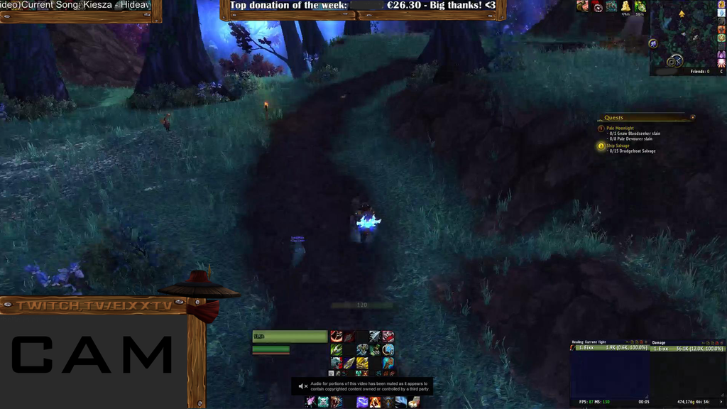 World Of Warcraft Twitch Tv Overlay By Allessiadesigns