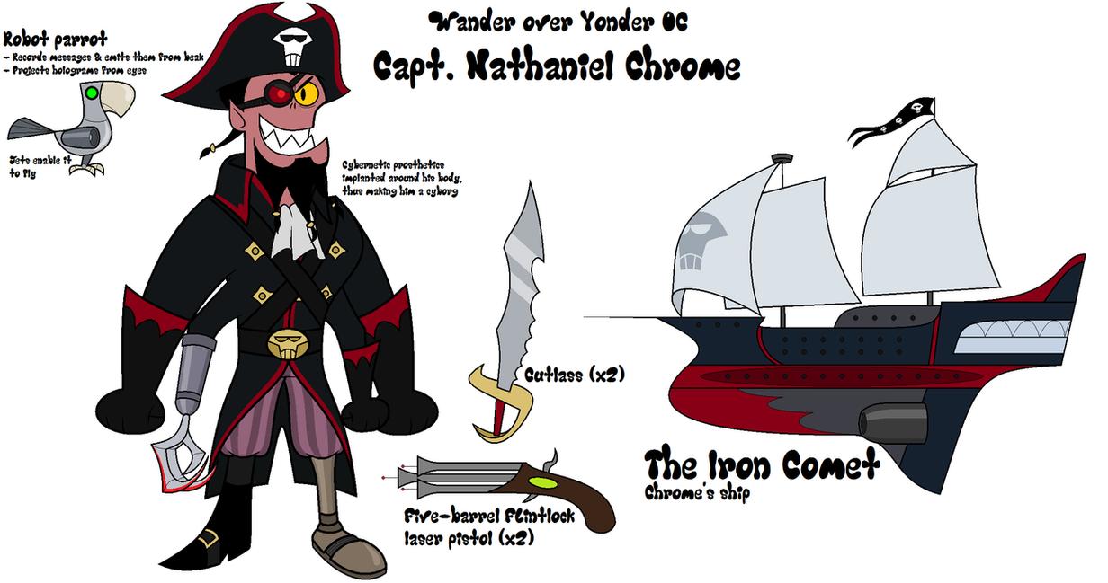 Wander Over Yonder OC - Captain Chrome by BlackRobtheRuthless