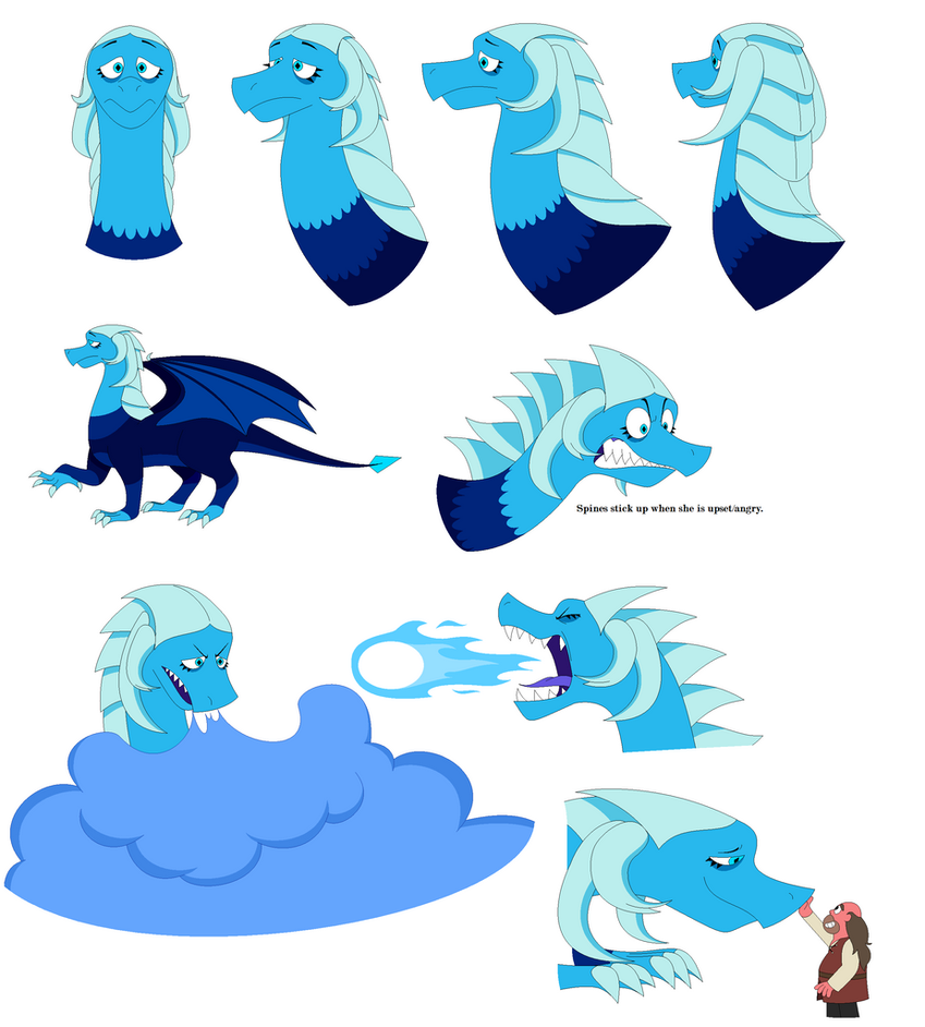 Blue Dragon (Renaissance Fantasy AU) by BlackRobtheRuthless
