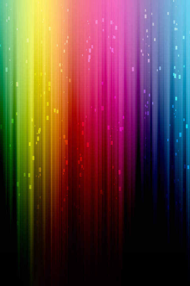 IPod Rainbow Wallpaper By Rpvzutphen