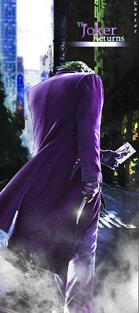 The Joker Returns by smrzy