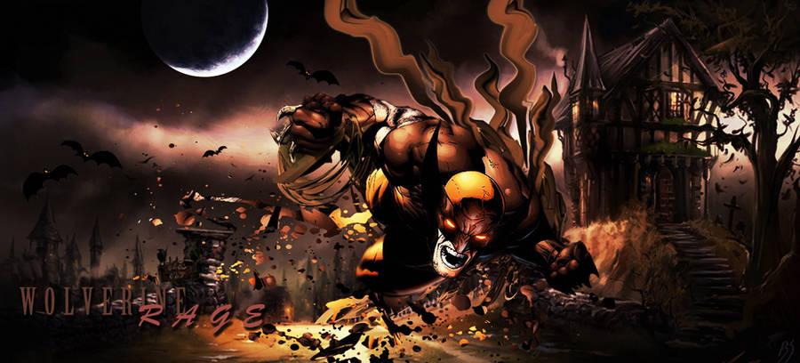Wolverine: Rage by smrzy