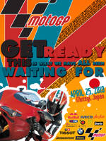Moto GP Poster by smrzy