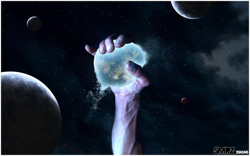 Hand of God by smrzy