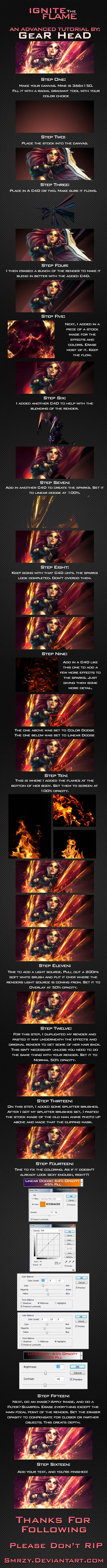 Ignite The Flame Tutorial by smrzy