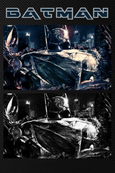 Dark Batman by smrzy