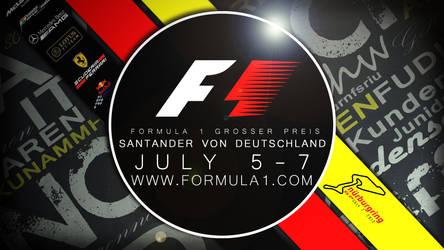 German-Formula-1-Poster