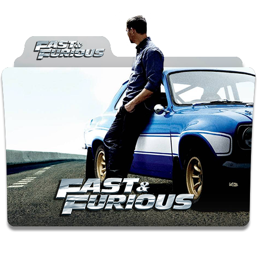 Fast Furious 2001 2017 Folder Icon By Humbertog On Deviantart