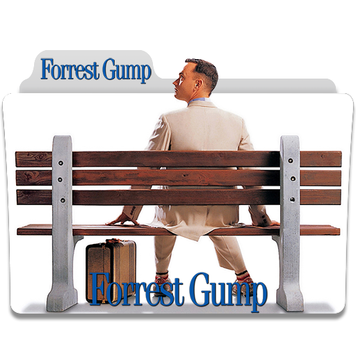 Forrest Gump 1994 Folder Icon By Humbertog On Deviantart