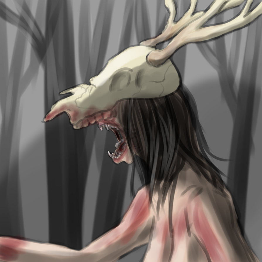 Wendigo by windchilde