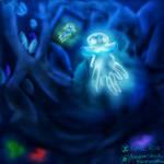 Subterranean Depths [Nihilego] by AlphaicRose