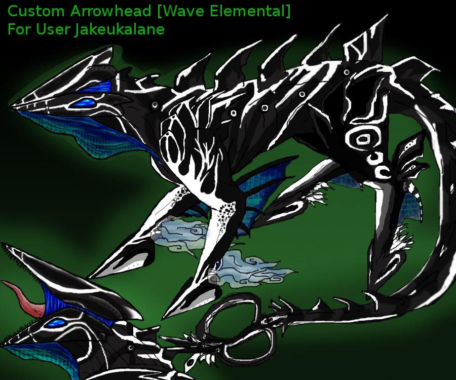 Arrowhead Custom for Jakeukalane by GenkoFox