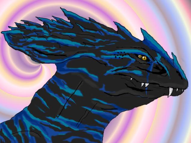 Acin LadyBlue [Collar Free] by GenkoFox