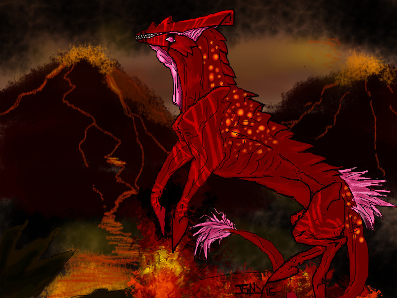 Arrowhead Says Let it all Burn by GenkoFox