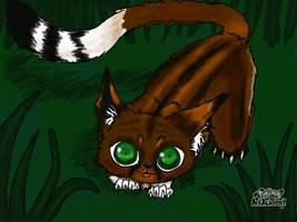 Wildkit First Warrior Cat OC by GenkoFox